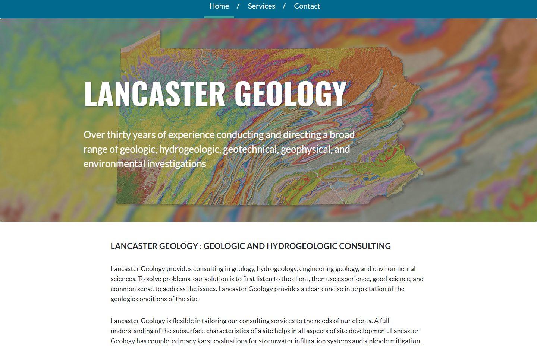 Lancaster Geology
