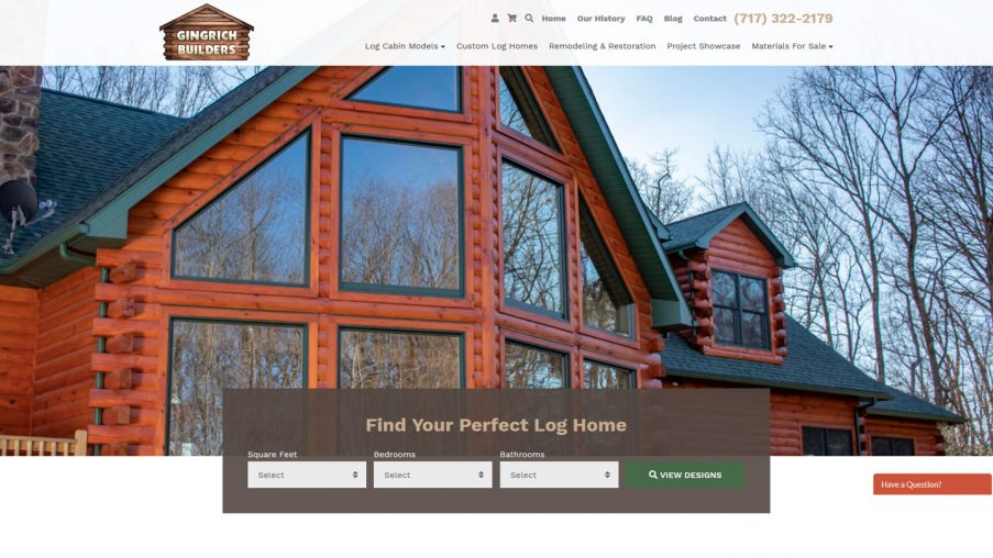 Gingrich Log Home Builders