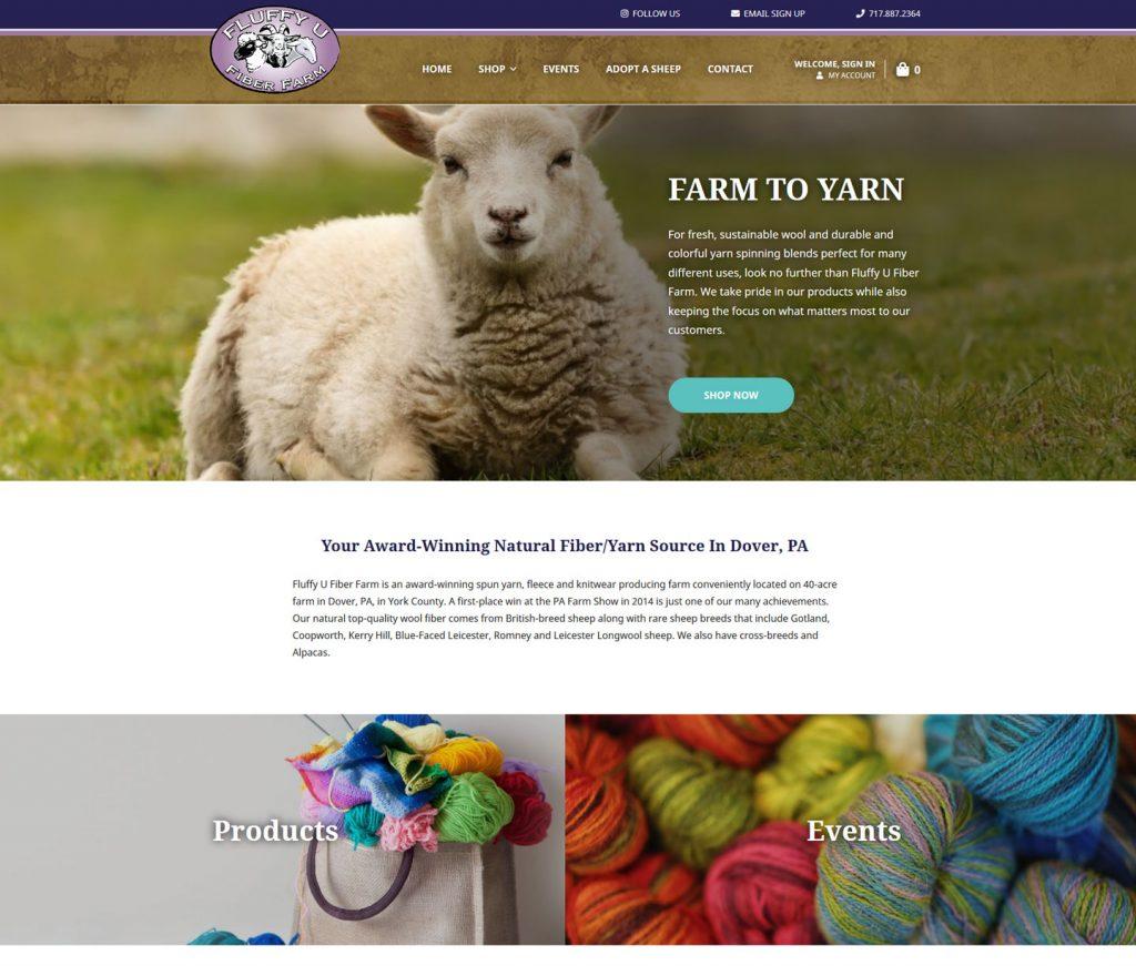 Yarn Ecommerce Website