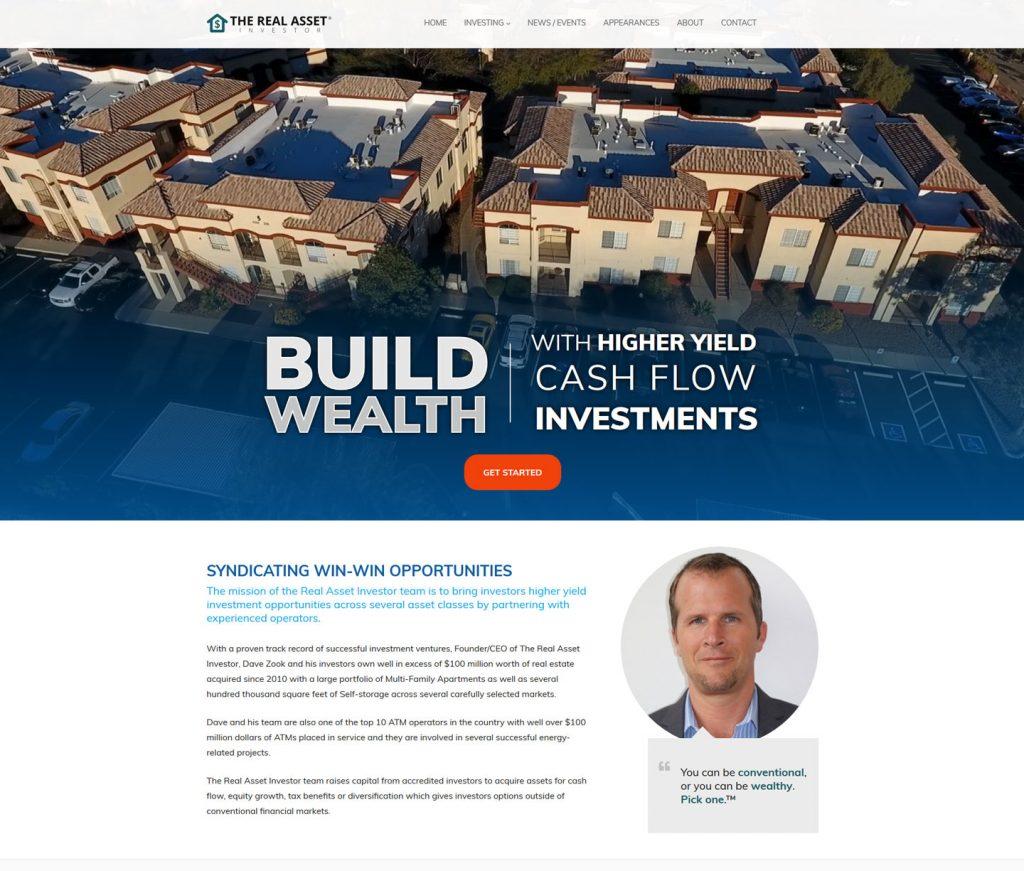 Investor Website Redesign