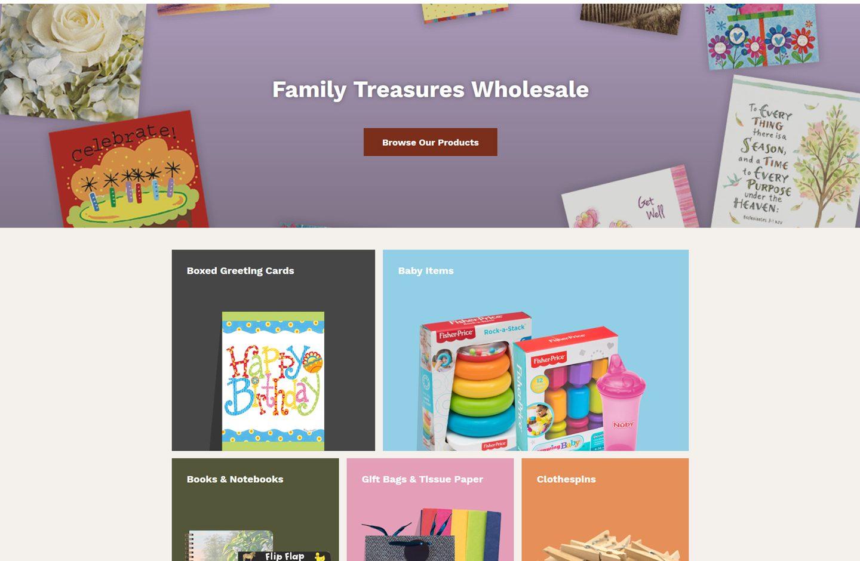 Family Treasures Wholesale