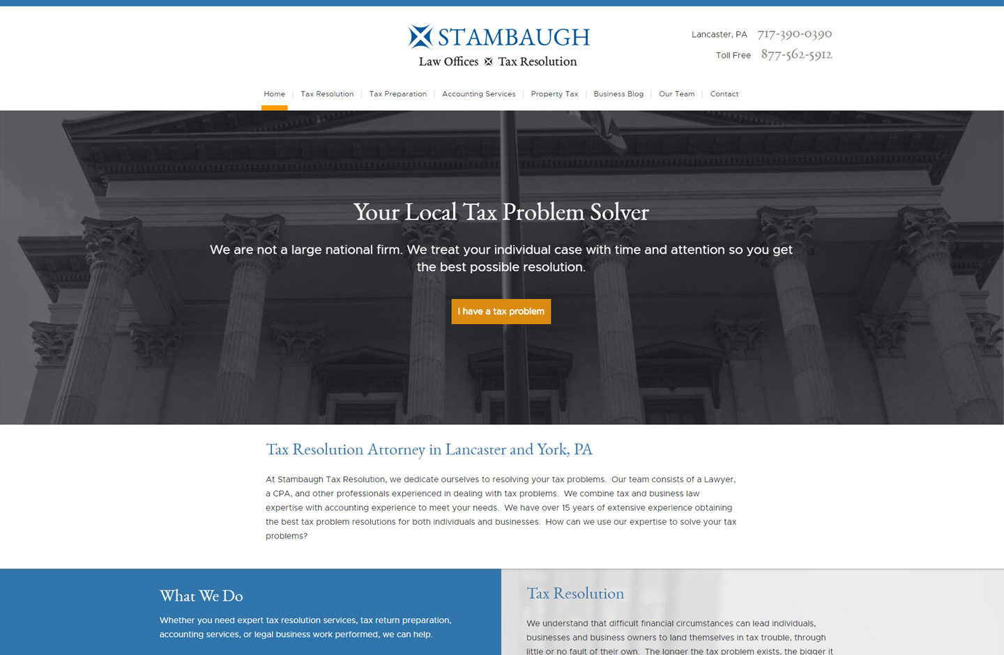 Best lawyer website design