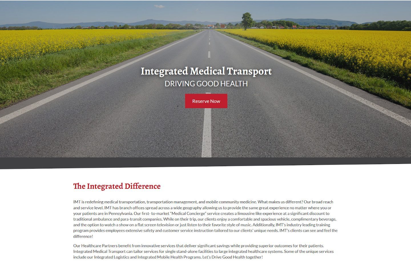 Integrated Medical Transport