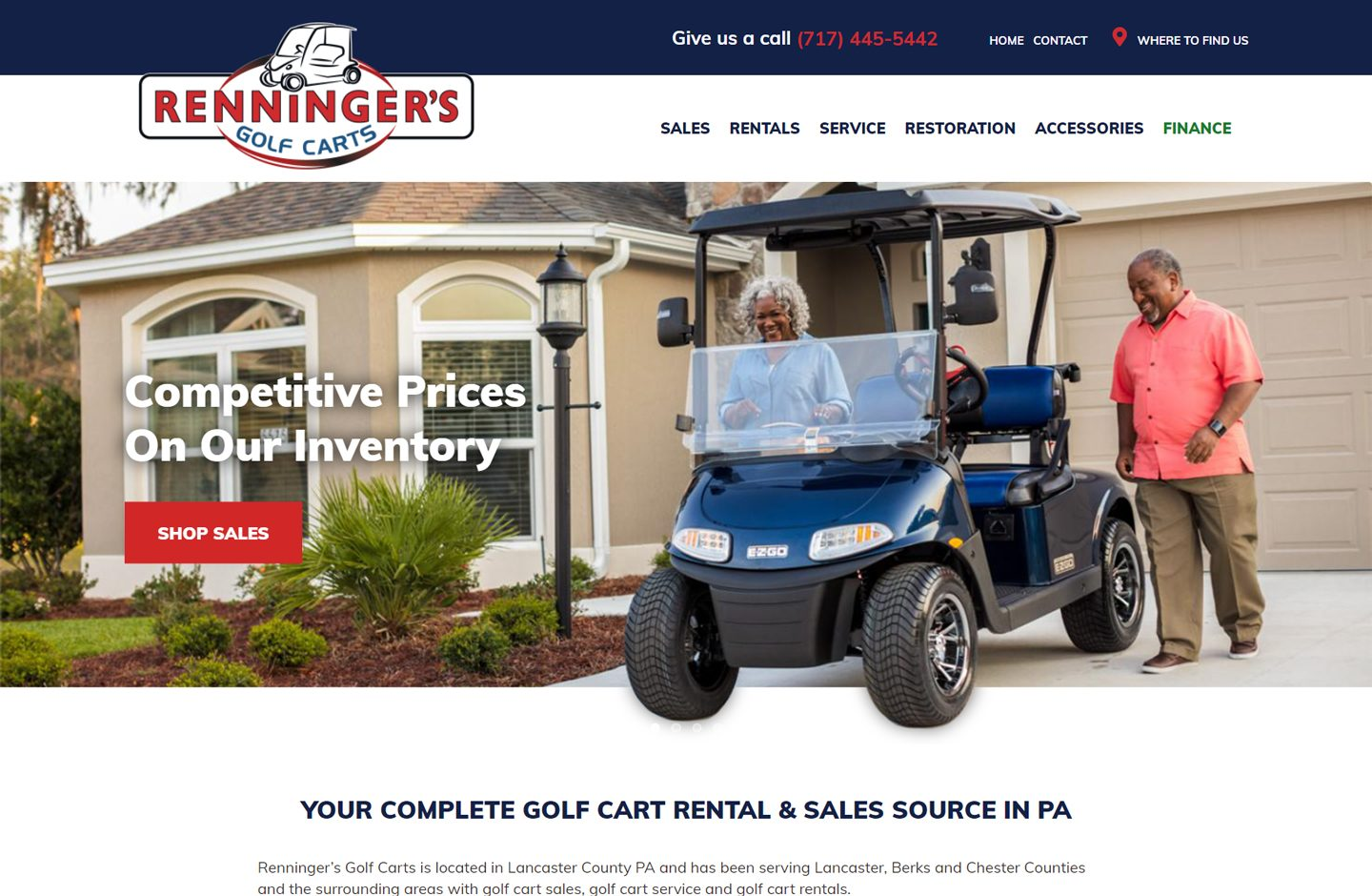 Rennigers Golf Carts