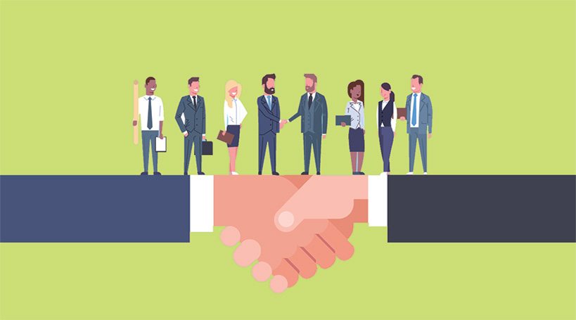 Partnership between business and marketing team