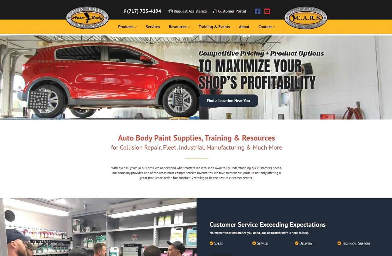 Zimmerman Auto Body Supplies, Inc.