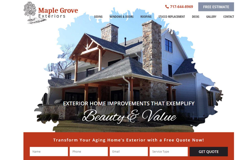 Maple Grove Exteriors
