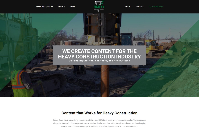 Fraley Construction Marketing